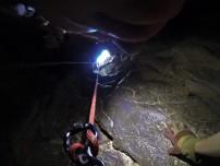 Спуск в пещеру от первого лица. Снято GoPro Hero 3.
