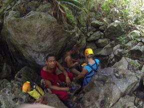 Вход в пещеру Фун-Фун. Раньше вход был в другом месте, но лет 5 назад случился обвал породы.