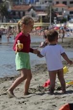 Эти дети из Германии. Ulcinj, Montenegro