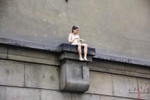 Девочка с Ласточкой, безымянная скульптура